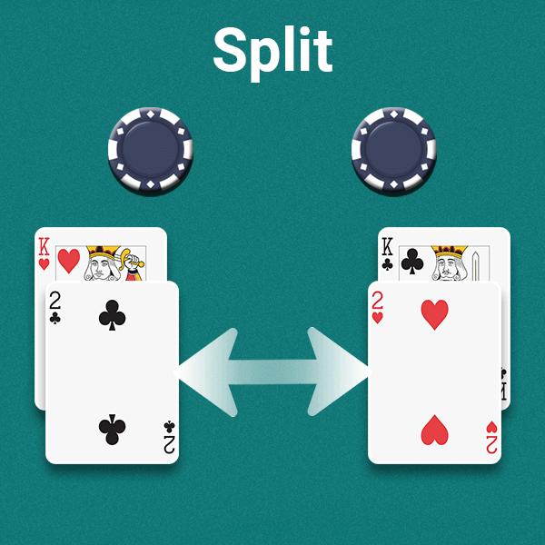 split cards