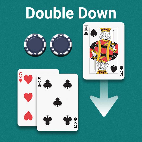double down decision