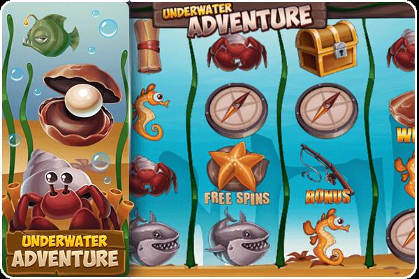play underwater adventure