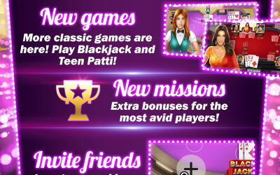 NEW GAMES, BONUS CHALLENGES AND LOTS OF EMOTIONS