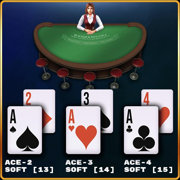 soft hands in blackjack