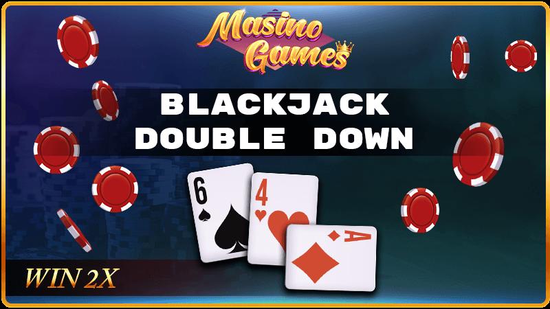 blackjack double down bet